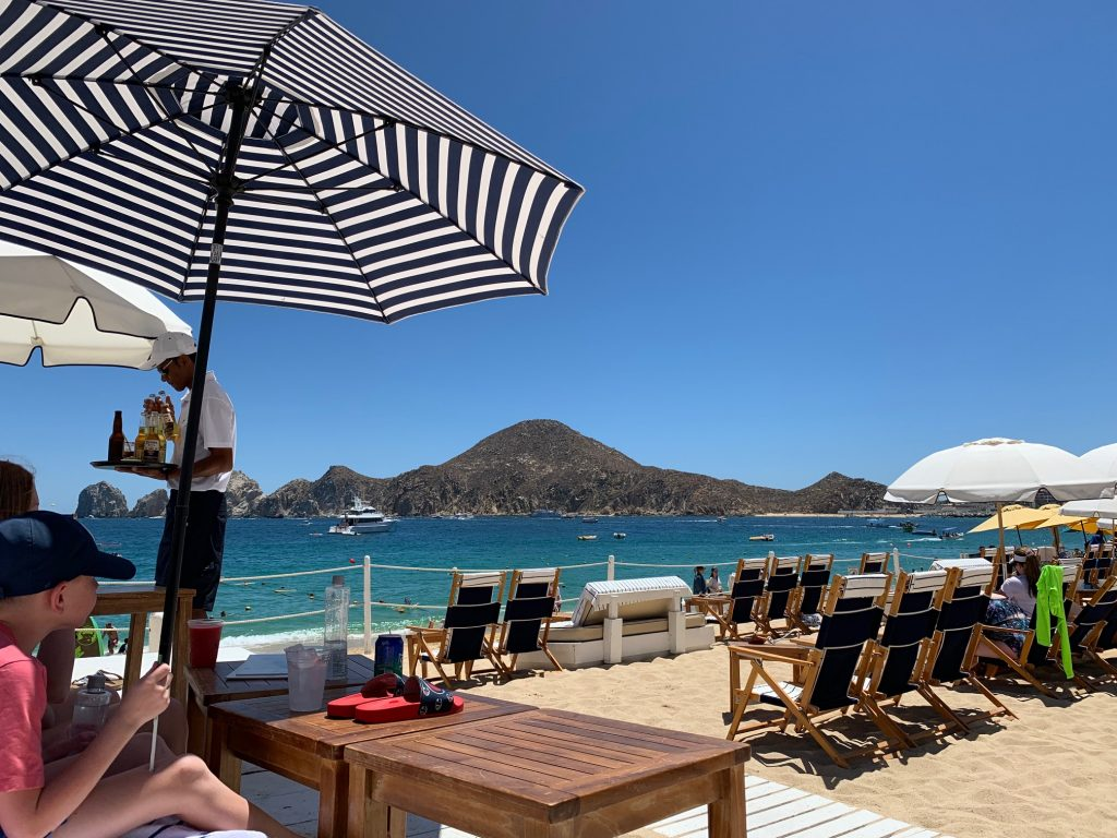 Sur Beach House on Medano Beach in Cabo San Lucas