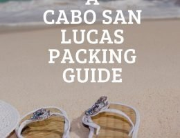 Cabo San Lucas, packing guide