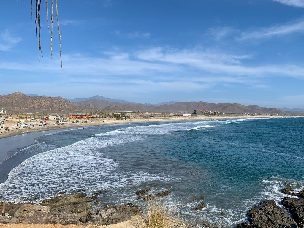 Los Cerritos Beach Todos Santas Mexico