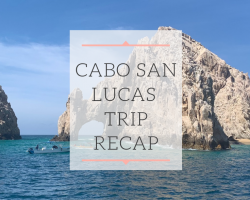 A guide on things to do in Cabo San Lucas