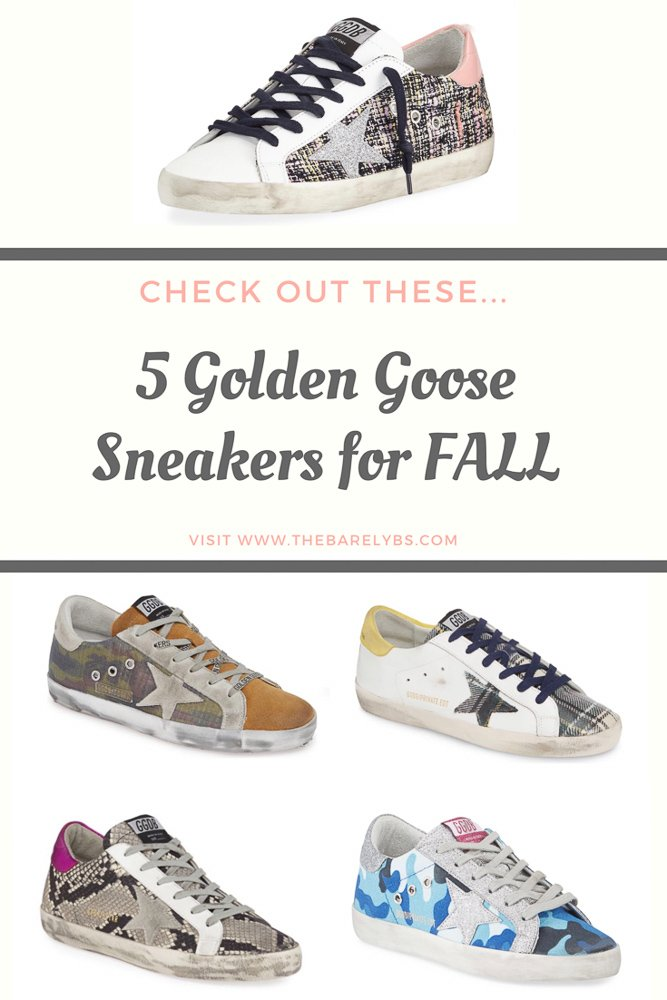 5 Golden Goose options for Fall