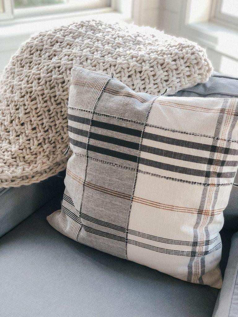 Target plaid pillow