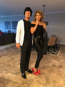 Husband and Wife Grease Halloween costume