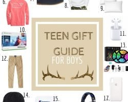 Teen Boy Gift Guide Roundup