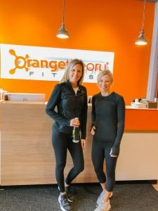 The Barely B's blog at Orange Theory fitness.